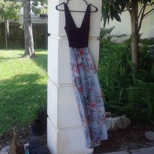 Purple flowy Stitch Fix dress